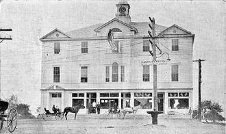 Wells, Maine - Wells Town Hall in 1922.