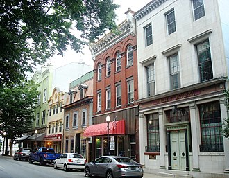 Williamsport, Pennsylvania - West 4th Street in Downtown Williamsport (2014)