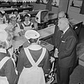 Wethouder Koets opende nieuwe les en praktijklokalen in het Wilhelminagasthuis t, Bestanddeelnr 914-4816.jpg