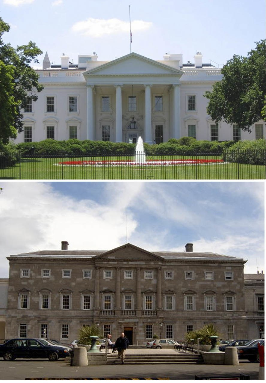 White House North Side Comparison2