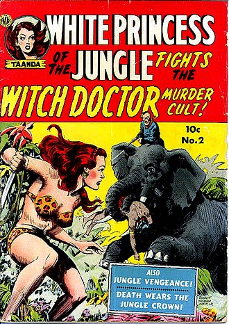 Avon (publisher) - Avon published five issues of White Princess of the Jungle.
