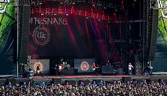Whitesnake - Whitesnake performing at Wacken Open Air 2016