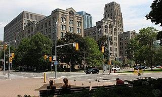 provincial government building in Toronto, Ontario, Canada