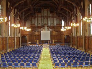 Whitworth Hall - The inside of Whitworth Hall