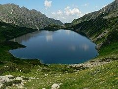 Wielki Staw Polski ze szlaku na Szpiglasową Przełęcz