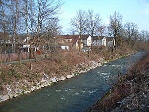 Wigger (river) - The Wigger between Zofingen and Strengelbach.