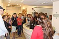 Wiki Loves Monuments 2016 in Israel Tour of the Lehi Museum IMG 1153.JPG