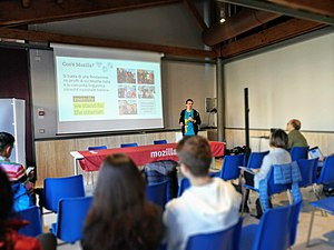 Wikidata's 6th birthday in Rieti 06.jpg