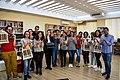 Wikimedians of Albanian Language User Group - Wikidata Birthday Celebration 2018 (7).jpg