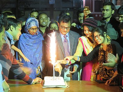 Wikipedia's Birthday celebration in Rajshahi 2017 02.jpg