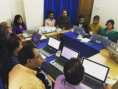 Wikipedia Workshop for Bangladesh NGOs Network for Radio and Communications staffs 05.jpg