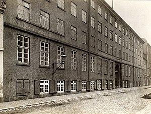 Wildersgade Barracks - The main building in 1924