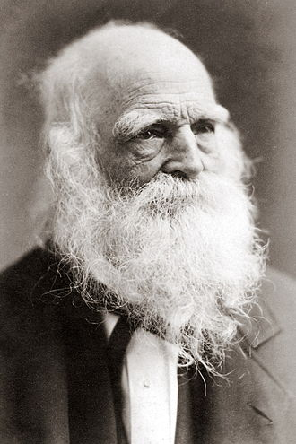 William Cullen Bryant - Image: William Cullen Bryant Cabinet Card by Mora crop