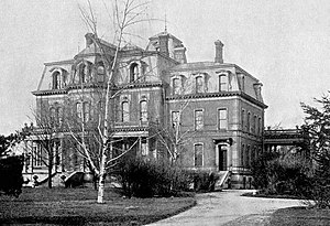 William Fargo - William G. Fargo Mansion as it appeared in 1900 before it was demolished