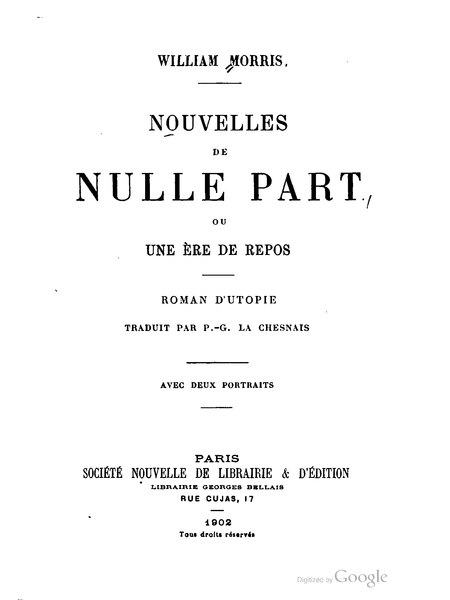 File:William Morris - Nouvelles de Nulle Part.djvu