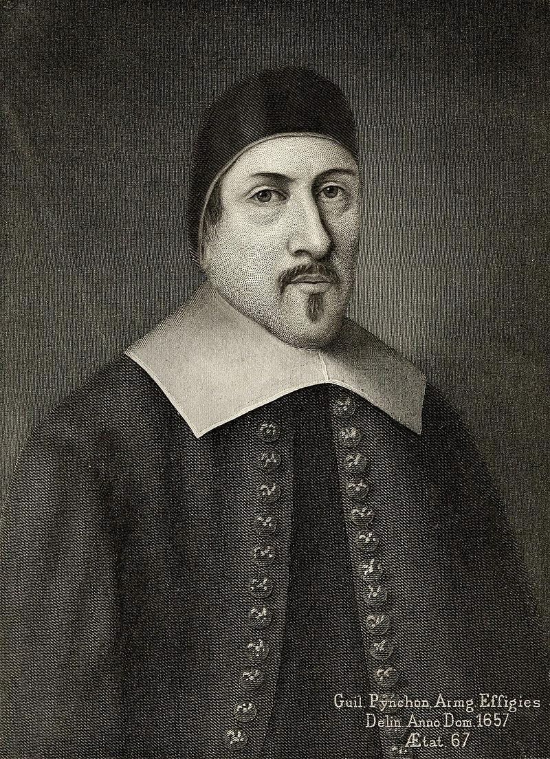 Half length portrait of William Pynchon