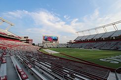 Williams-Brice Stadium at University of South Carolina - Columbia, SC (16710203776).jpg