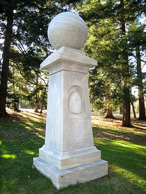 American Board of Commissioners for Foreign Missions - The Haystack Monument, Williams College, commemorates the event in 1806 that inspired the creation of the ABCFM.