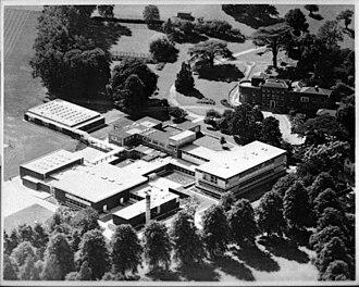 Wilmington Grammar School for Boys - Birds-eye view of the school in 1964