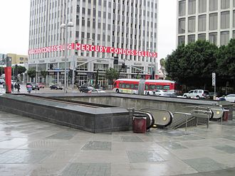 Wilshire/Western station - The entrance to Wilshire/Western Station