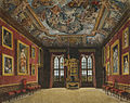 Windsor Castle, King's Old State Bedchamber, by Charles Wild, 1816 - royal coll 922106 313687 ORI 2.jpg