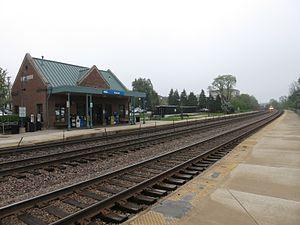 Winfield, Illinois - Image: Winfield IL Train Station