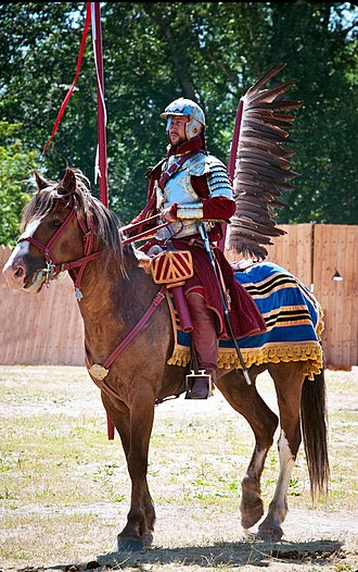 Polish hussars - A historical reconstruction of a Winged Hussar, 2013
