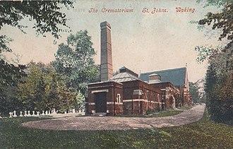 Woking Crematorium - Woking Crematorium in the early 20th century
