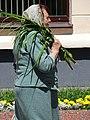 Woman Strolling on Sovetskaya Street - Grodno - Belarus (27699934891).jpg