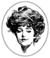 Woman illustration by Charles Dana Gibson.png