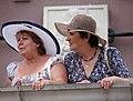 Women on Town Hall Balcony - Zamosc - Poland (9218591040).jpg