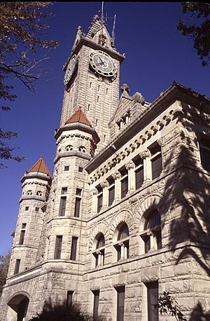 Wood County, Ohio - Image: Wood County Courthouse Jail