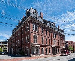 Woodman Building historic building in Portland, Maine, USA