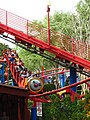 Woody Woodpeckers Nuthouse Coaster under lift hill.jpg