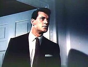 Screenshot of Rock Hudson from the trailer for...
