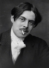 Wyndham Lewis photo by George Charles Beresford 1913.jpg