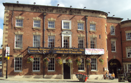 The Wynnstay Arms Hotel, Wrexham. Wynnstay Arms Hotel, Wrexham - DSC09411.PNG