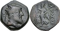 Xerxes of Armenia coin 220 BC.jpg