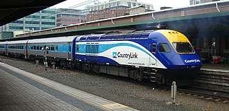 North Coast railway line, New South Wales - An XPT at Sydney's Central Station