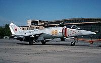 Yakovlev Yak-38M at MAKS-1993 airshow.jpg