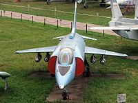 Yakovlev Yak-38 at Central Air Force museum (5).jpg