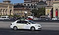 Yandex Panorama shooting car in Yerevan, Republic Square, fall 2016.jpg