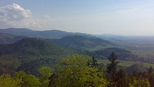 Black Forest - Slopes of the Northern Black Forest to the Upper Rhine Plain (Northern Black Forest Valleys)