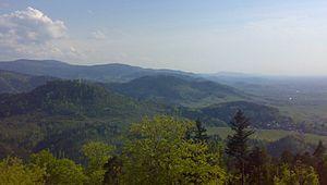 Black Forest - Slopes of the Northern Black Forest to the Upper Rhine Plain (Northern Black Forest Valleys)