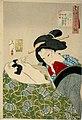 Yoshitoshi - Looking warm - Fuzoku Sanjuniso no. 4.jpg