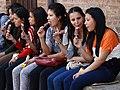 Young Women and Ice Cream - Bhaktapur - Nepal.jpg