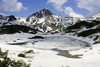 Pyramidal peak - Muratov peak, Pirin Mountain, Bulgaria