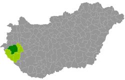 magyarország térkép zalaegerszeg Zalaegerszegi járás – Wikipédia magyarország térkép zalaegerszeg