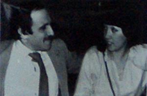 Andrzej Zaucha (singer) - Andrzej Zaucha with his wife Elżbieta
