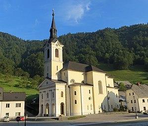 Železniki - Saint Anthony's Church
